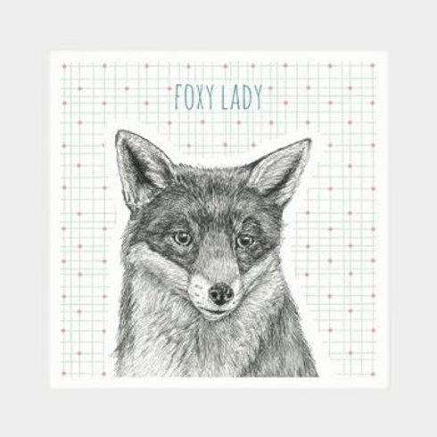 East of India Animal Coaster - Fox