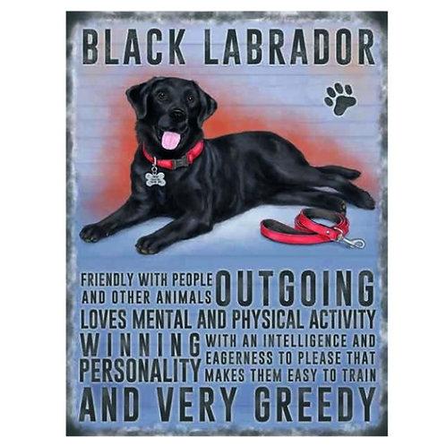 Dog Breed - Labrador Black