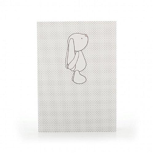Bashful Bunny Beige Spots A6 Note Book
