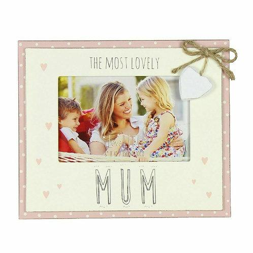 Most Lovely Mum Frame