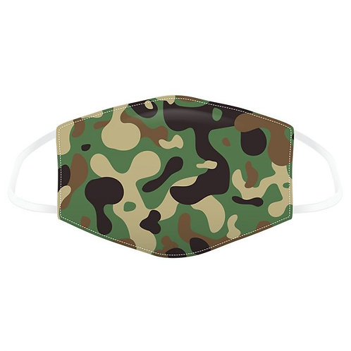 Adult Face Covering - Camouflage