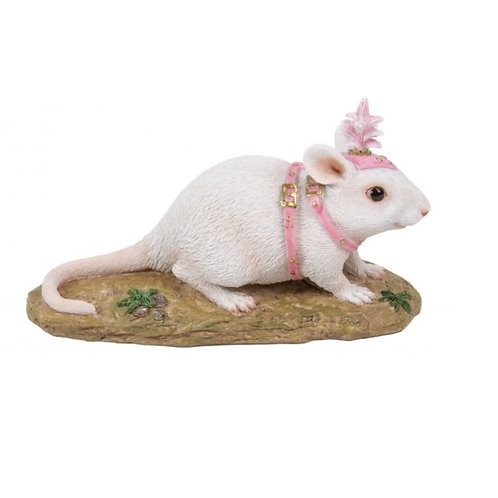 White Carriage Mouse