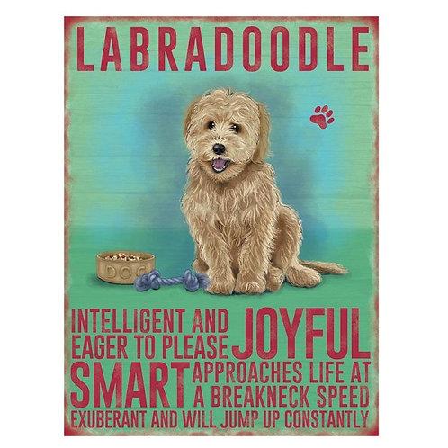 Dog Breed - Labradoodle Cream