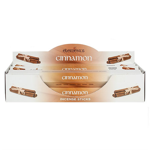 Elements Cinnamon Incense - Pack of 6