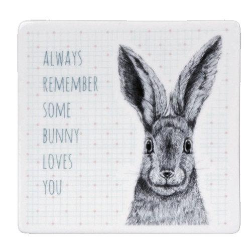East of India Animal Coaster - Bunny