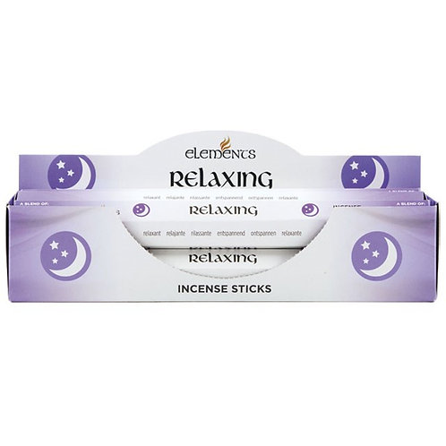 Elements Relaxing Incense - Pack of 6