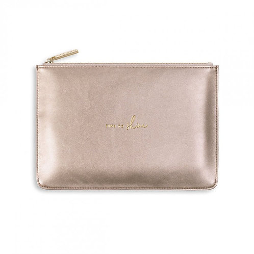 Katie Loxton Bag - Rose Gold - Time to Shine
