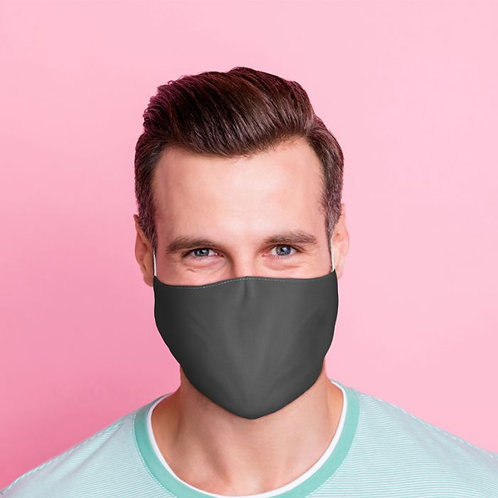 Adult Face Covering - Plain Grey