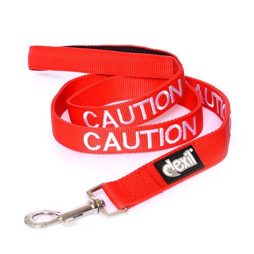 Caution Dog Lead