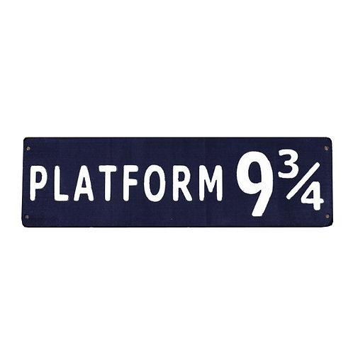 Small Platform 9 3/4 Sign