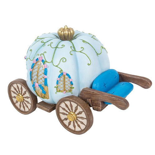 CLICK & COLLECT ONLY ITEM Pumpkin Carriage Fairy House