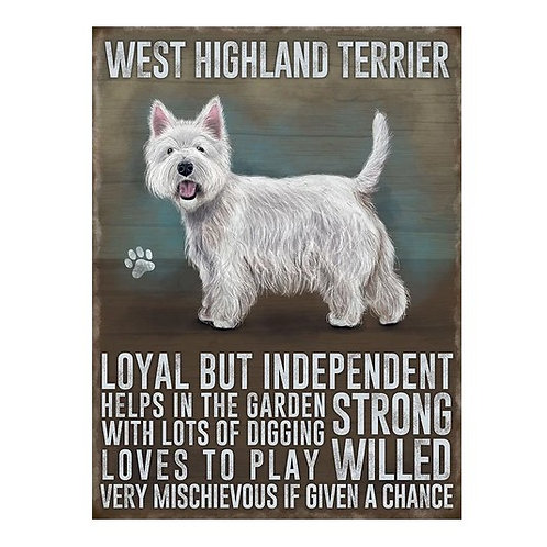 Dog Breed - Westie