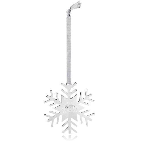 Katie Loxton Silver Snowflake Dec