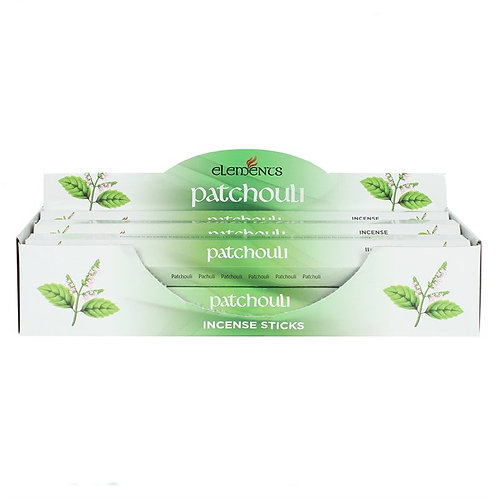 Elements Patchouli Incense - Pack of 6