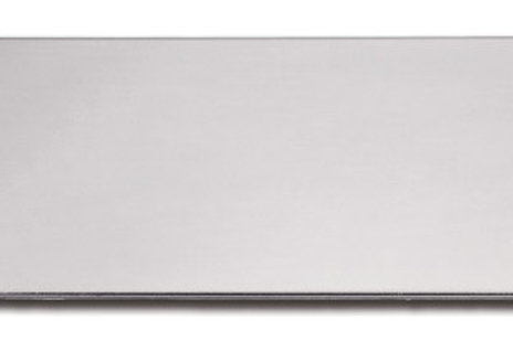 """Large (1"""" x 3"""") Silver Adhesive Plate 10174-16"""
