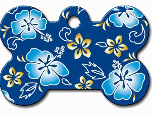 Bone Lg Hawaiian Blue 7324-969