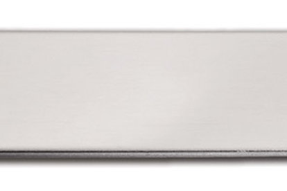 """Small  (1/2"""" x 2"""") Silver Adhesive Plate 10174-21"""