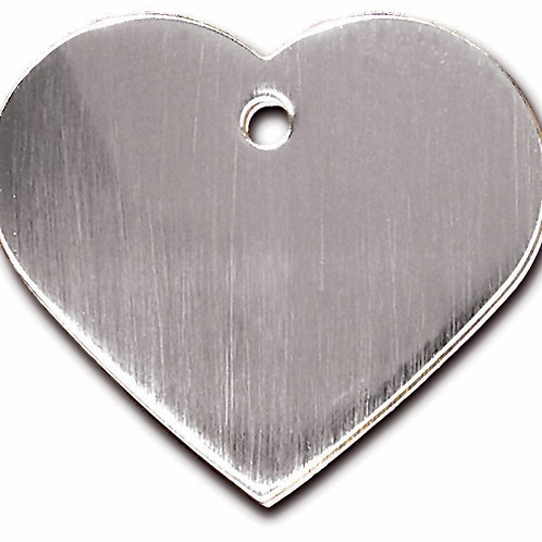 Heart Lg Brushed Chrome 7322-20