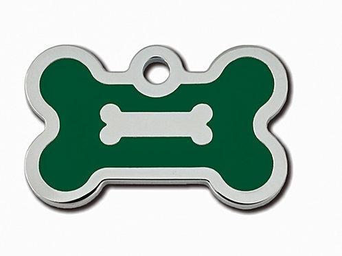 Bone Sml Epoxy Fill Emerald Green 7722-63