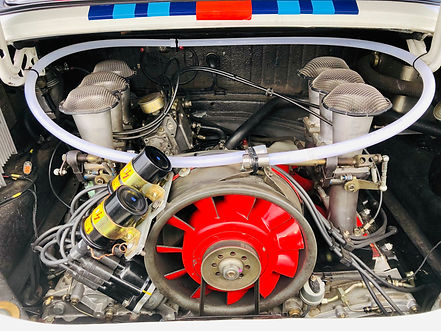 Blazecut installed in Porche 911 Rally C