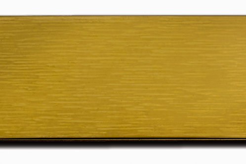 """Large (1"""" x 3"""") Gold Adhesive Plate 10174-05"""