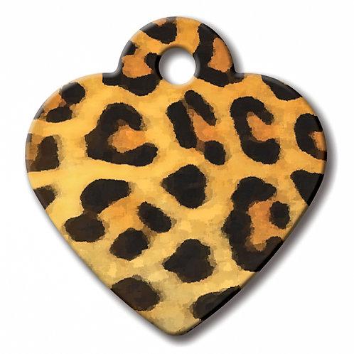 Heart Sml Giraffe Print 7323-869