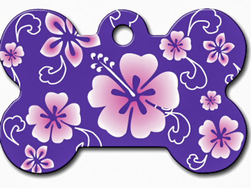 Bone Lg Hawaiian Purple 7324-967