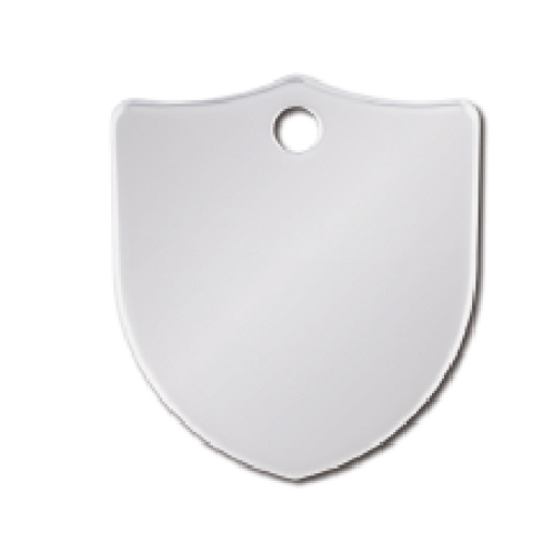 Shield Sml. Chrome 8434-02