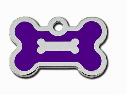 Bone Sml Epoxy Fill Purple 7722-62