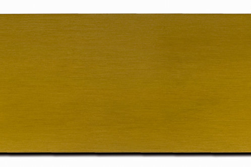 Horse Stall Plate - Brushed Brass 7708-10