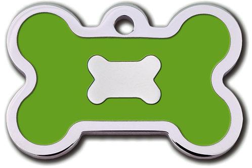 Bone Lg Epoxy Fil Neon Green 7717-52