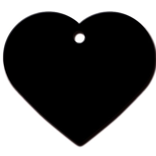 Heart Lg Black 7322-08