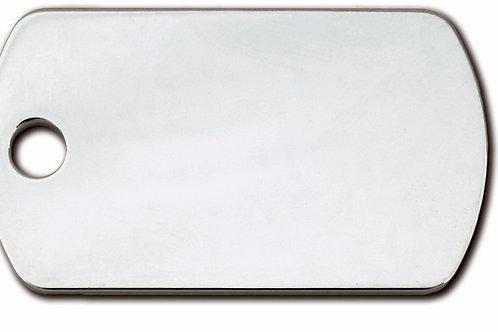 Military SMALL Chrome 7709-02