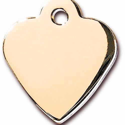 Heart Sml Gold 7323-03