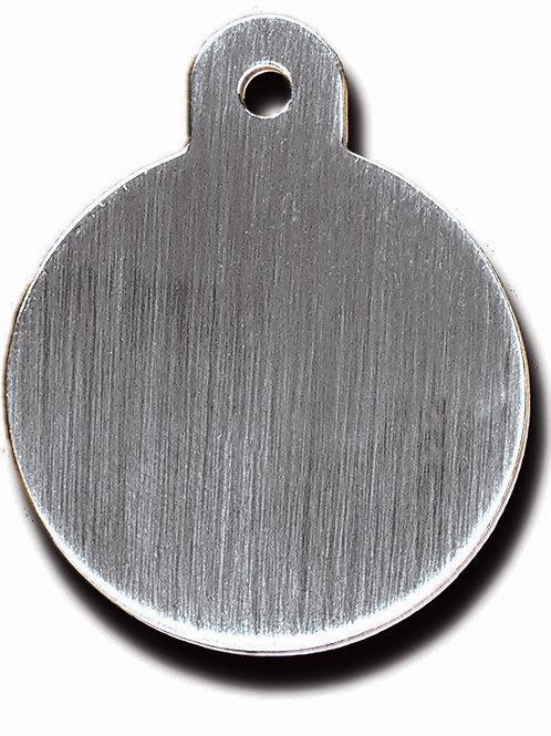 Circle Lg Brushed Chrome 7325-20