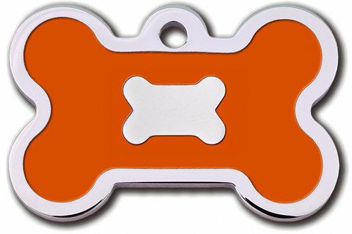 Bone Lg Epoxy Fill Orange 7717-53