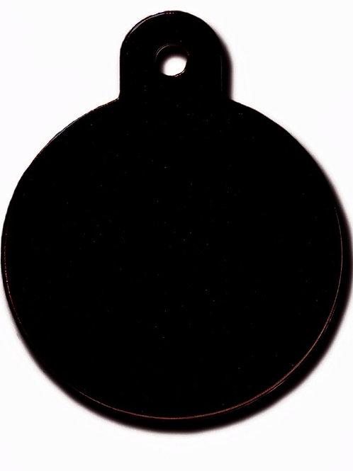 Circle Lg Black 7325-08