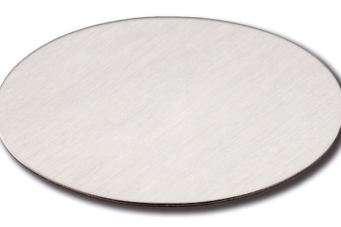 Oval Adhesive Plate - Silver 10174-19