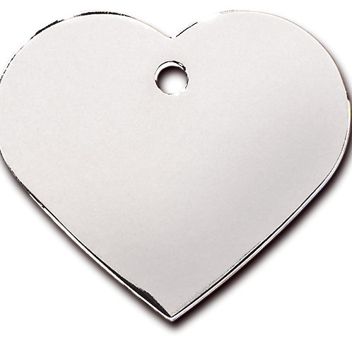 Heart Lg Chrome 7322-02