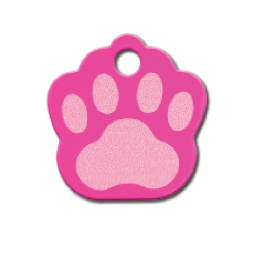 Paw Sml Painted Pink 8442-778