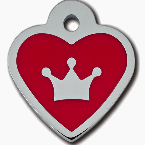 Heart Small Epoxy Red 7725-39