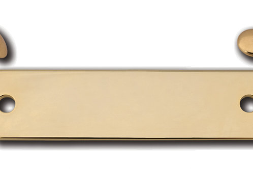 Small (one sided) Polished Brass Rivet Tag 11254-02