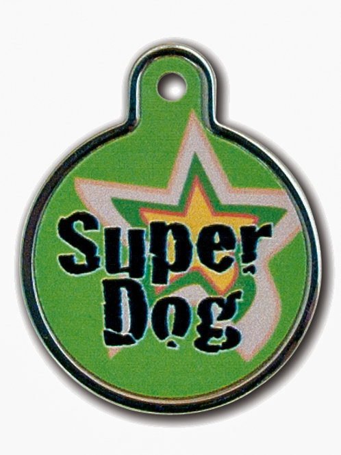 Circle Lg Super Dog Raised Edges 7733-02-1077