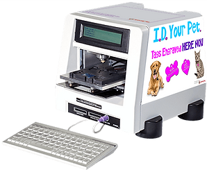 Petscribe Machine Angled View Cut out wi
