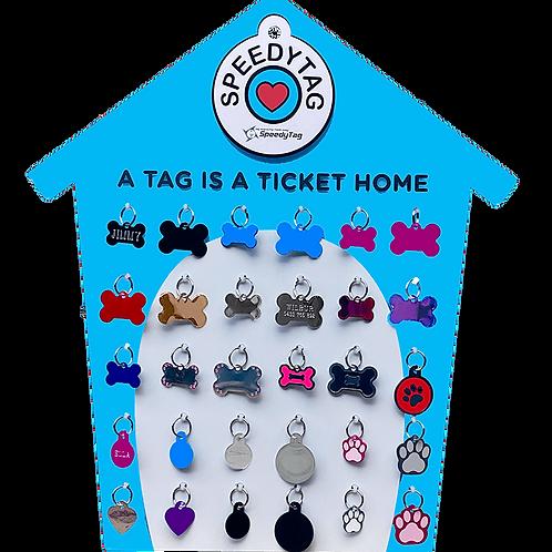New Design Dog House 30 Tag Display Easel 9971182