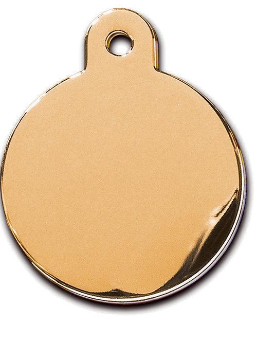 Circle Lg Gold 7325-03