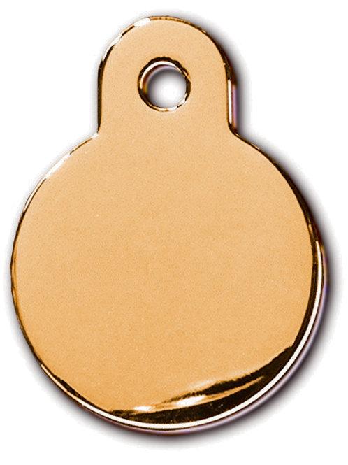 Circle Sml Gold 7326-03