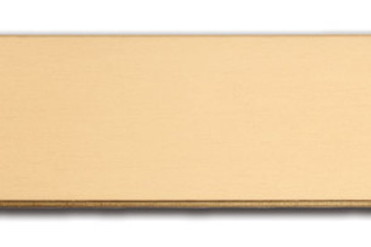 """Small  (1/2"""" x 2"""") Brass Adhesive Plate 10174-03"""