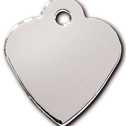 Heart Sml Chrome 7323-02
