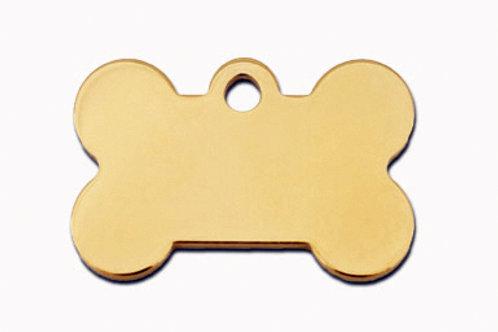 Bone Sml Gold 7700-03